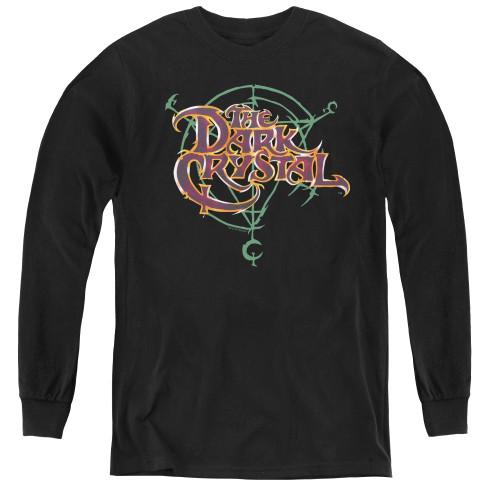 Image for The Dark Crystal Youth Long Sleeve T-Shirt - Symbol Logo