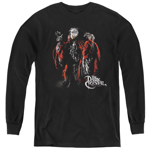 Image for The Dark Crystal Youth Long Sleeve T-Shirt - Skeksis