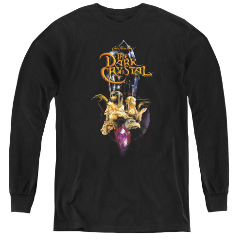 Image for The Dark Crystal Youth Long Sleeve T-Shirt - Quest