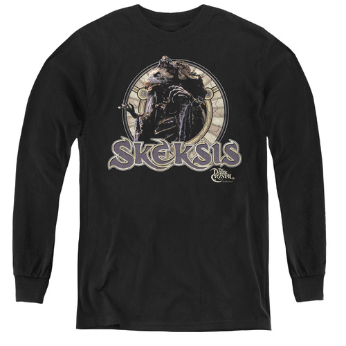 Image for The Dark Crystal Youth Long Sleeve T-Shirt - Skeksis Circle