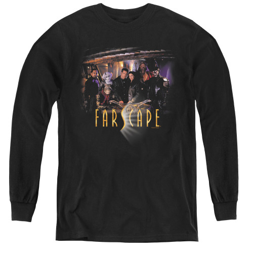 Image for Farscape Cast Youth Long Sleeve T-Shirt