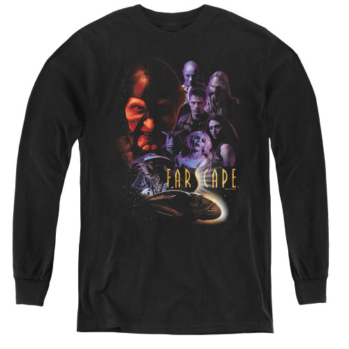 Image for Farscape Criminally Epic Youth Long Sleeve T-Shirt