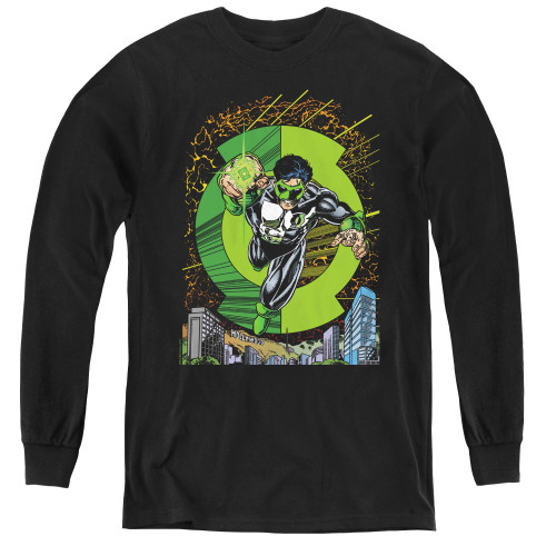 Image for Green Lantern #51 Cover Youth Long Sleeve T-Shirt