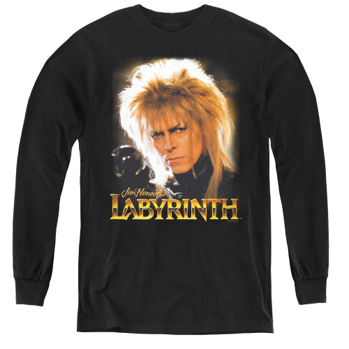 Image for Labyrinth Youth Long Sleeve T-Shirt - Jareth