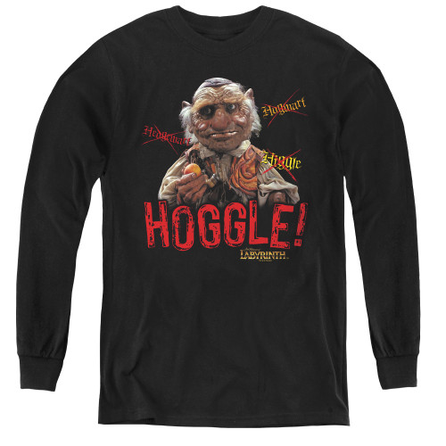 Image for Labyrinth Youth Long Sleeve T-Shirt - Hoggle