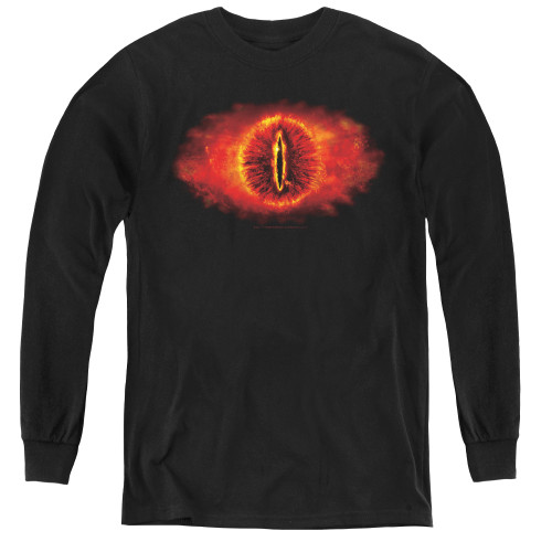 Image for Lord of the Rings Youth Long Sleeve T-Shirt -Eye of Sauron