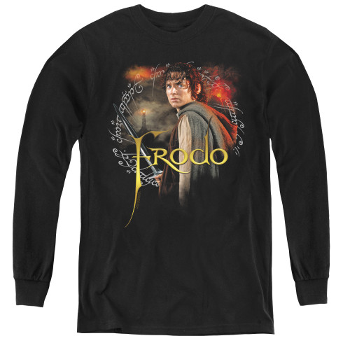 Image for Lord of the Rings Youth Long Sleeve T-Shirt -Frodo