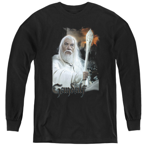 Image for Lord of the Rings Youth Long Sleeve T-Shirt -Gandalf