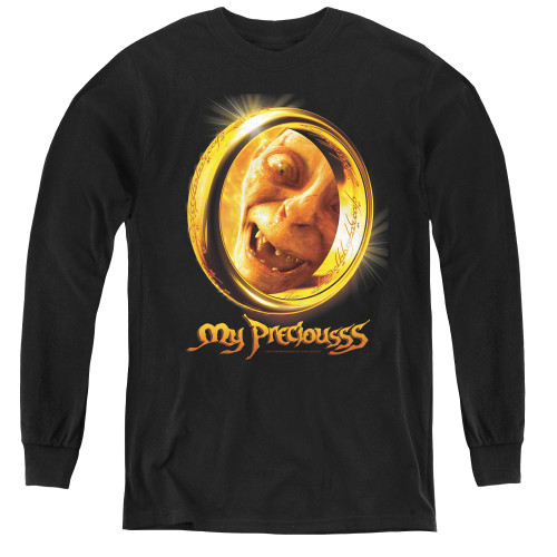 Image for Lord of the Rings Youth Long Sleeve T-Shirt -My Precious
