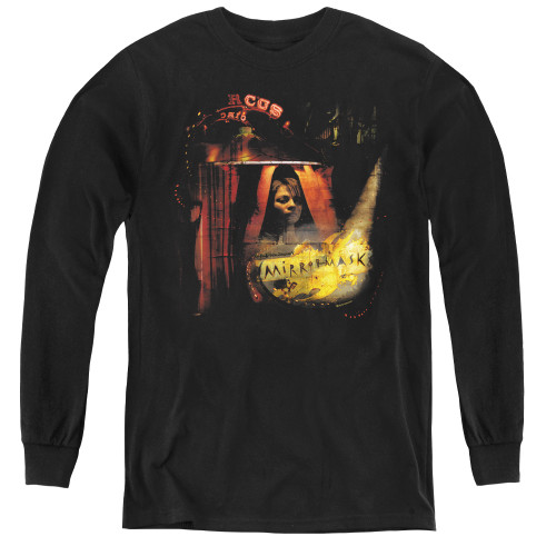 Image for MirrorMask Youth Long Sleeve T-Shirt - Big Top Poster