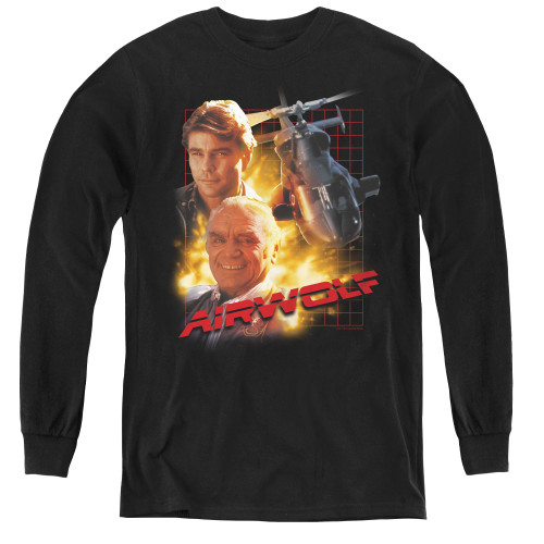 Image for Airwolf Youth Long Sleeve T-Shirt