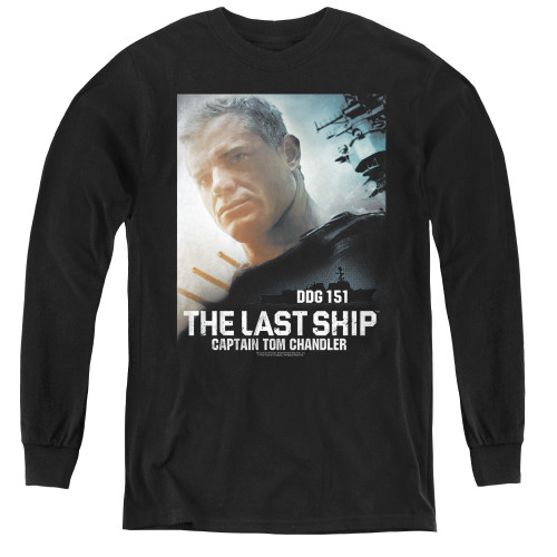 Image for The Last Ship Youth Long Sleeve T-Shirt - Captain