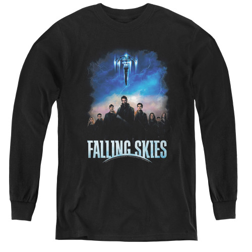 Image for Falling Skies Youth Long Sleeve T-Shirt - Main Players