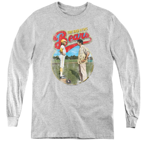 Image for Bad News Bears Youth Long Sleeve T-Shirt - Vintage