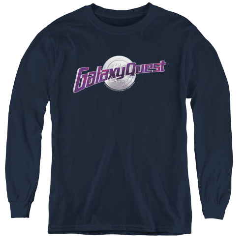 Image for Galaxy Quest Youth Long Sleeve T-Shirt - Logo