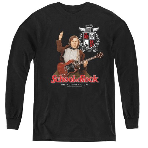 Image for School of Rock Youth Long Sleeve T-Shirt - The Teacher is In