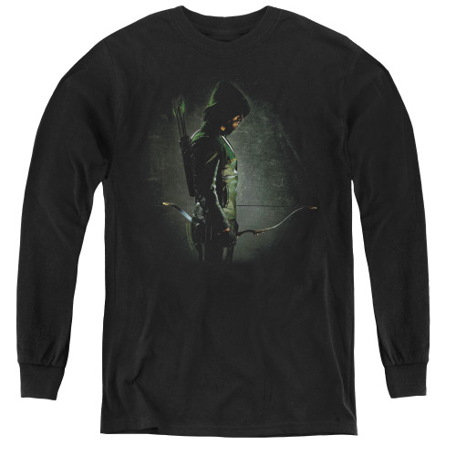 Image for Arrow Youth Long Sleeve T-Shirt - In the Shadows