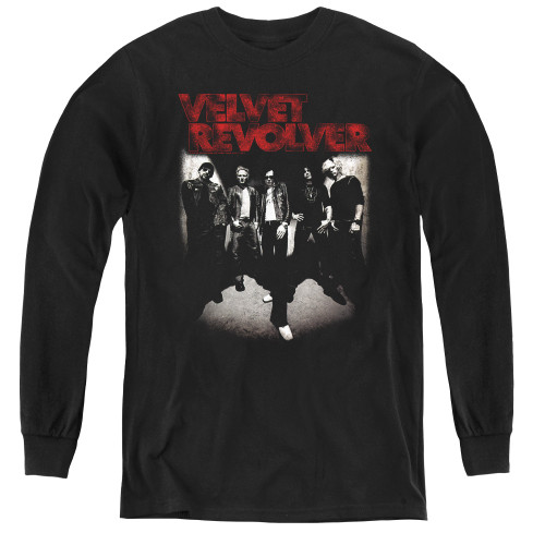 Image for Velvet Revolver Youth Long Sleeve T-Shirt - Group Shot