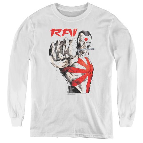 Image for Rai Youth Long Sleeve T-Shirt - Sword Drawn