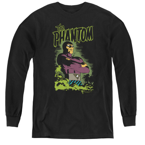 Image for The Phantom Youth Long Sleeve T-Shirt - Jungle Protector