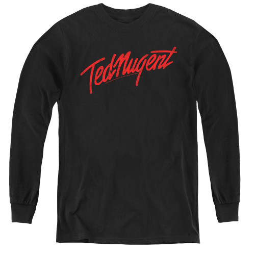 Image for Ted Nugent Youth Long Sleeve T-Shirt - Distress Logo