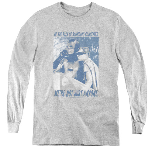 Image for Batman Classic TV Youth Long Sleeve T-Shirt - Boogie Nights