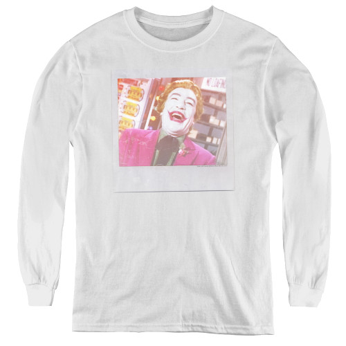 Image for Batman Classic TV Youth Long Sleeve T-Shirt - Captured