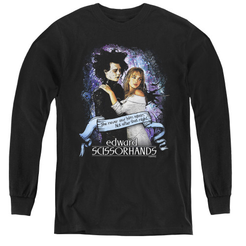 Image for Edward Scissorhands Youth Long Sleeve T-Shirt - That Night
