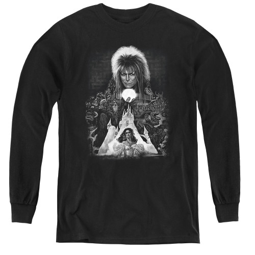 Image for Labyrinth Youth Long Sleeve T-Shirt - Castle