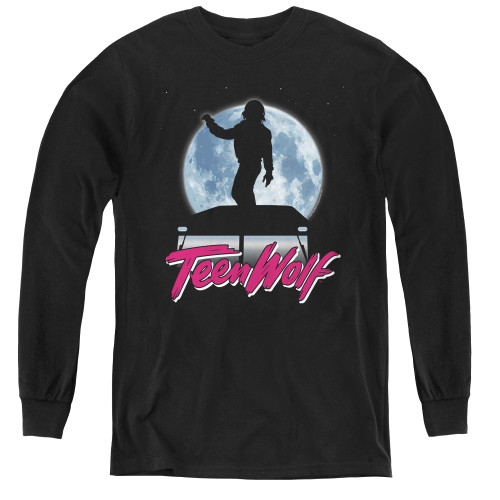 Image for Teen Wolf Youth Long Sleeve T-Shirt - Moonlight Surf
