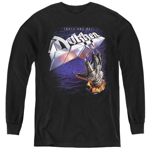 Image for Dokken Youth Long Sleeve T-Shirt - Tooth and Nail