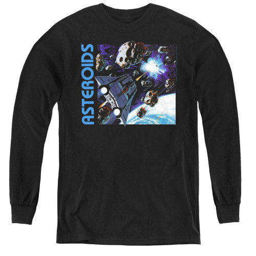 Image for Atari Youth Long Sleeve T-Shirt - 2600 Asteroids