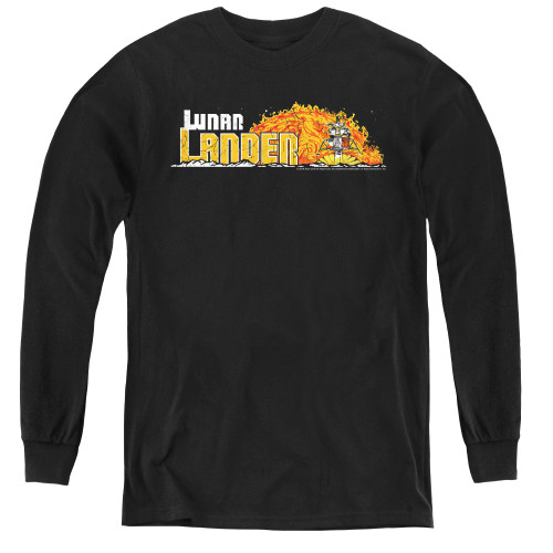 Image for Atari Youth Long Sleeve T-Shirt - Lunar Lander Marquee