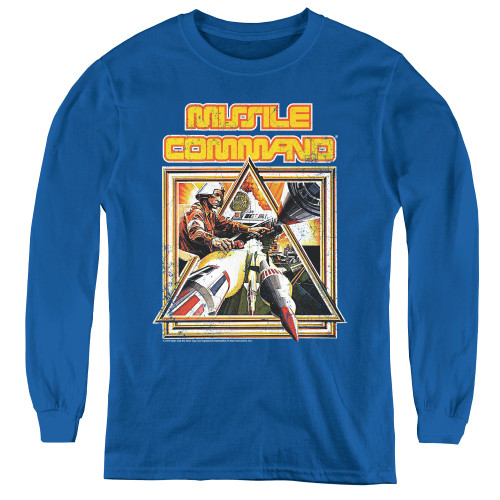 Image for Atari Youth Long Sleeve T-Shirt - Missile Command