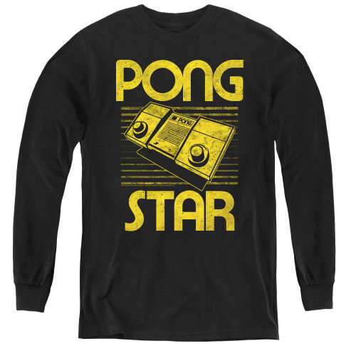 Image for Atari Youth Long Sleeve T-Shirt - Pong Star
