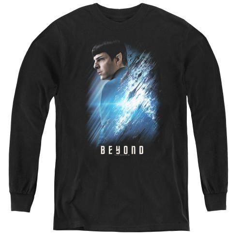 Image for Star Trek Beyond Youth Long Sleeve T-Shirt - Spock Poster
