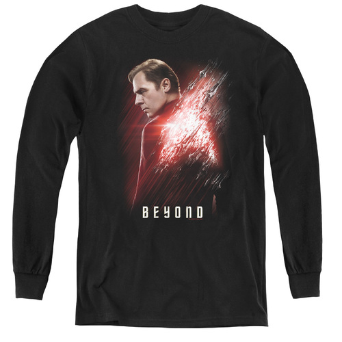 Image for Star Trek Beyond Youth Long Sleeve T-Shirt - Scotty