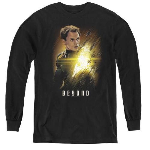 Image for Star Trek Beyond Youth Long Sleeve T-Shirt - Checkov Poster