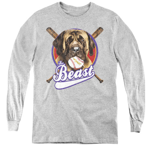 Image for The Sandlot Youth Long Sleeve T-Shirt - the Beast