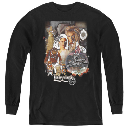 Image for Labyrinth Youth Long Sleeve T-Shirt - 25 Years of Magic