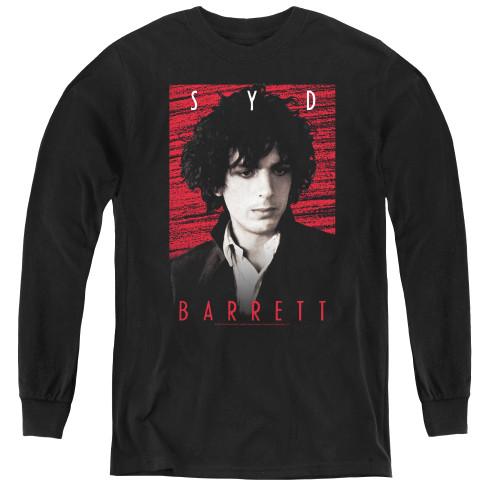 Image for Syd Barrett Youth Long Sleeve T-Shirt - Syd Gaze