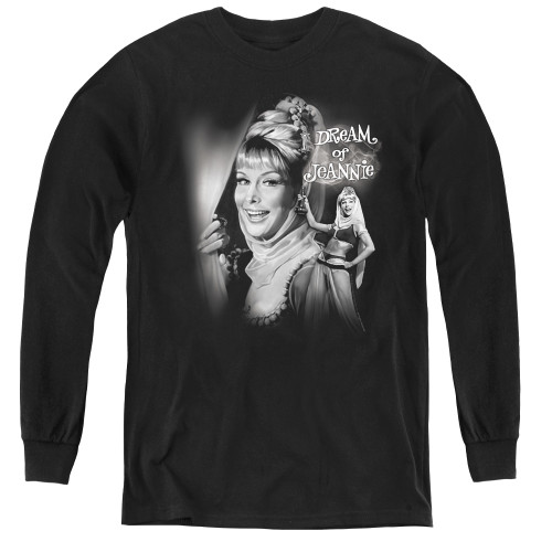 Image for I Dream of Jeannie Youth Long Sleeve T-Shirt - Lamp
