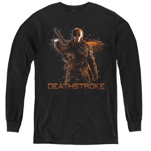 Image for Arrow Youth Long Sleeve T-Shirt - Deathstroke
