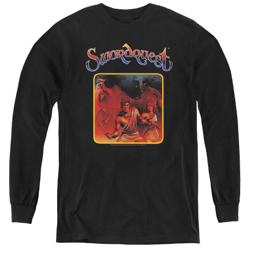 Image for Atari Youth Long Sleeve T-Shirt - Swordquest