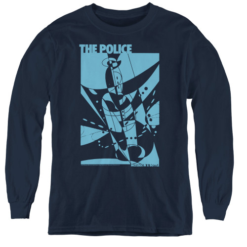 Image for The Police Youth Long Sleeve T-Shirt - Message in a Bottle