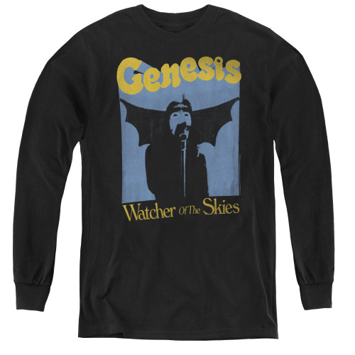 Image for Genesis Youth Long Sleeve T-Shirt - Watcher of the Skies
