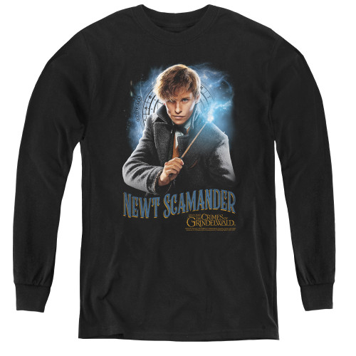 Image for Fantastic Beasts: the Crimes of Grindelwald Youth Long Sleeve T-Shirt - Scamander Monogram