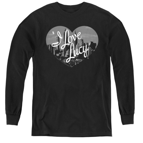 Image for I Love Lucy Youth Long Sleeve T-Shirt - Nostalgic City