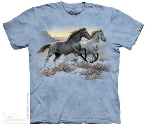Image for The Mountain T-Shirt - Running Free