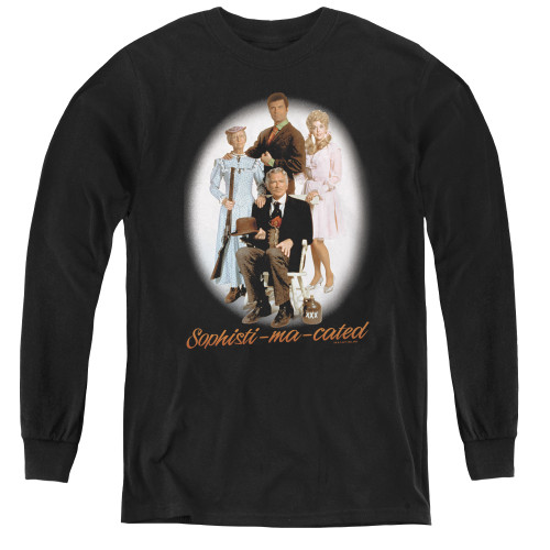 Image for The Beverly Hillbillies Youth Long Sleeve T-Shirt - Sophistimacated